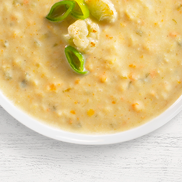 Cauliflower soup mix